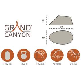 Grand Canyon Waikiki Pop-Up Beach Tent Beach Green